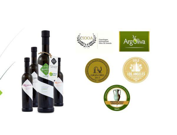Los aceites de la Almazara Quaryat Dillar ya son los aceites mas premiados de Sierra Nevada, por su calidad y su compromiso con el medio ambiente