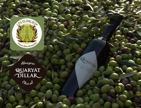 Quaryat Picual, el aceite de oliva virgen extra de Sierra Nevada recibe la medalla de plata en el concurso internacional Les Olivalies de Francia