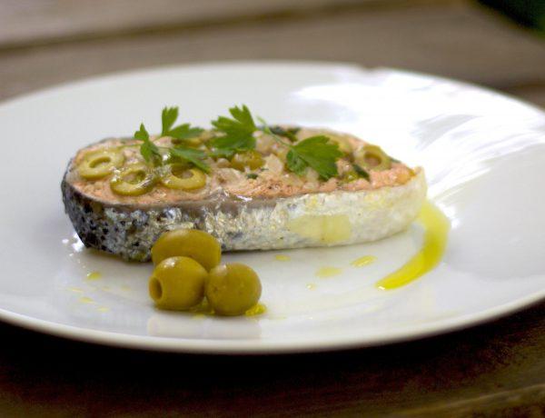 salmón al estilo Quaryat Blend