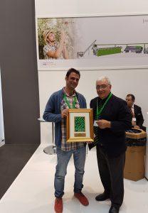 Recibimos el premio a los mejores aove 2017 por parte del Concurso Monocultivar