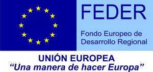 logo fondo FEDER (Fondo Europeo de Desarrollo Regional) Una manera de hacer Europa
