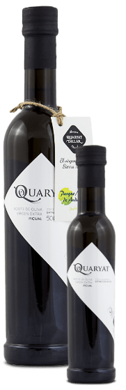 two picual extra virgin olive oil. Early harvestd. Produced in Sierra Nevada (Granada)